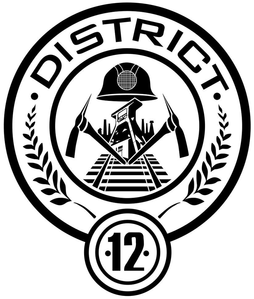 District 12 Seal by trebory6 Hunger Games Capitol Seal Vector