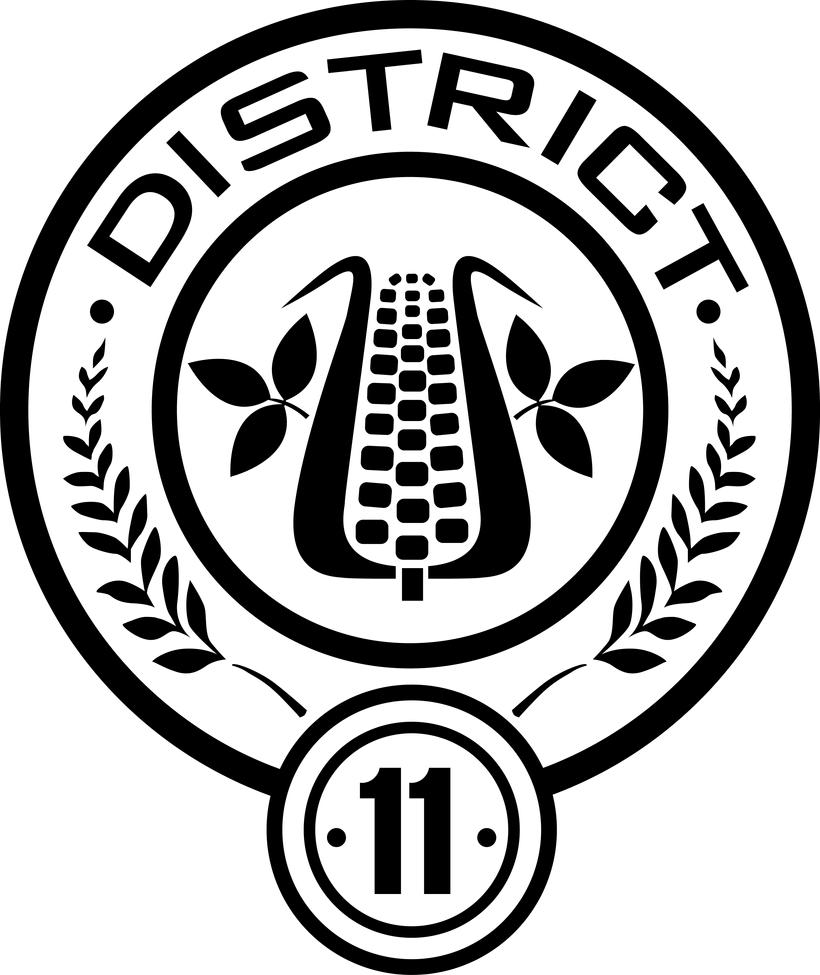District 11 Seal by trebory6 Hunger Games Capitol Seal Vector