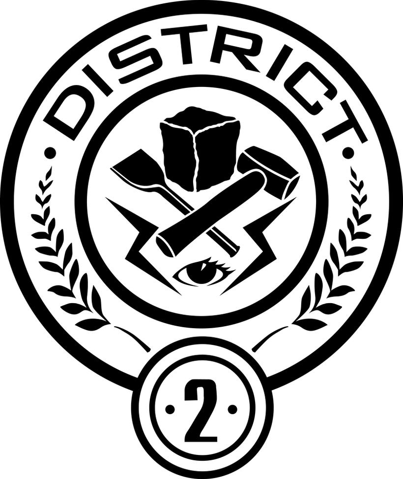 District 2 Seal by trebory6 Hunger Games Capitol Seal Vector