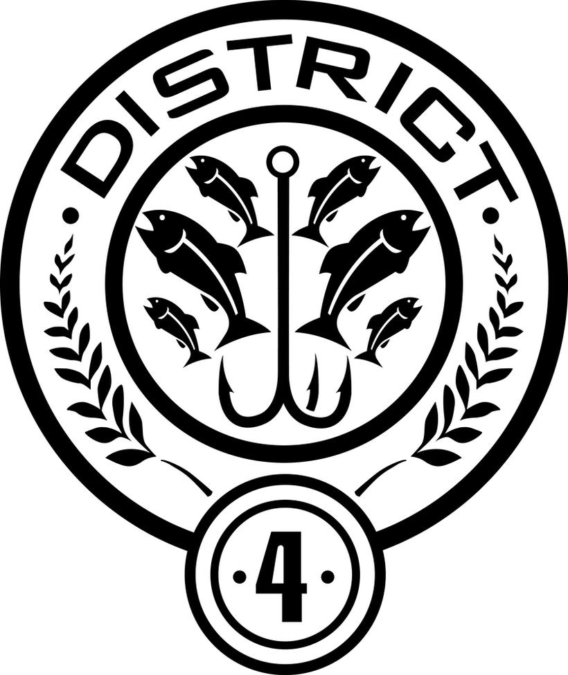 District 4 Seal by trebory6 Hunger Games Capitol Seal Vector