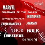 Marvel Font Pack