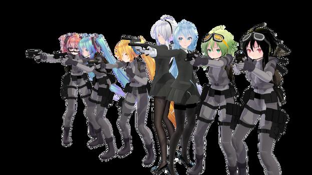 MMD Pistol Pack DL