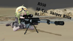 AS50 Sniper Rifle DL.