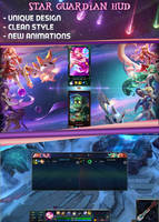League of Legends Star Guardian HUD