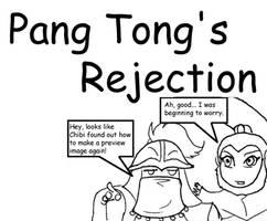 Pang Tong's Rejection by chibigingi