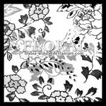 ps brushes - floral