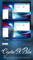 Crystal X Blue V2 For W7 by AxiSan