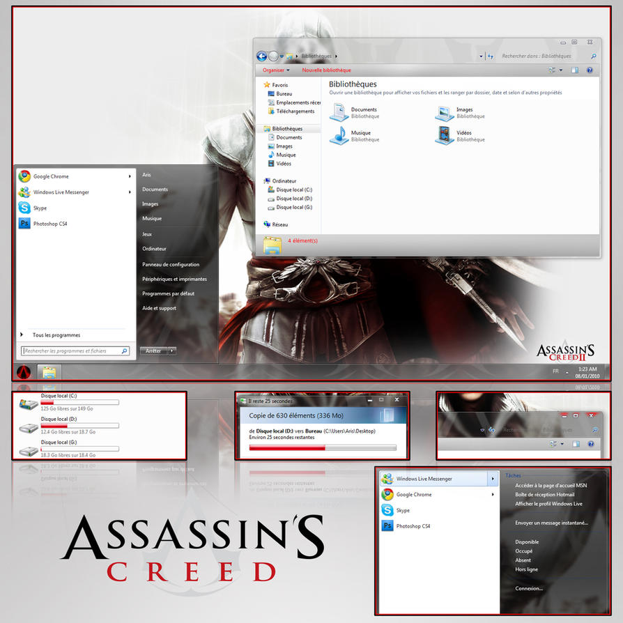 Assasin theme