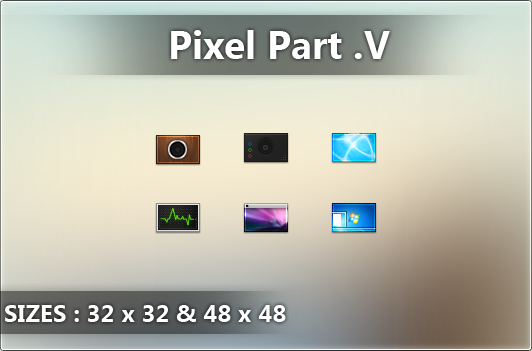 Pixel Icons 5 by AxiSan