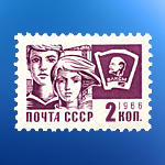 Gmail USSR stamp for Avedesk by Gobbr