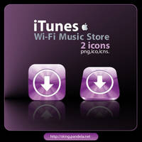 Itunes Wi-Fi Music Store by skingcito