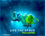 Live the space night