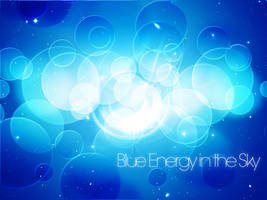 Blue Energy in the Sky by skingcito