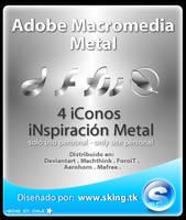 Adobe Macromedia Metal icons by skingcito