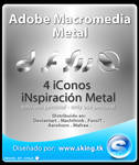 Adobe Macromedia Metal icons
