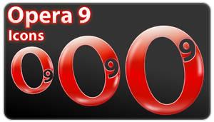 Opera 9 by skingcito