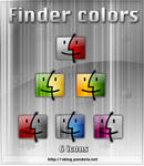 Finder Colors for dock