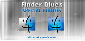 Finder Blues for mac