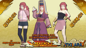 Naruto - Sara PACK 1! (FOR XPS)