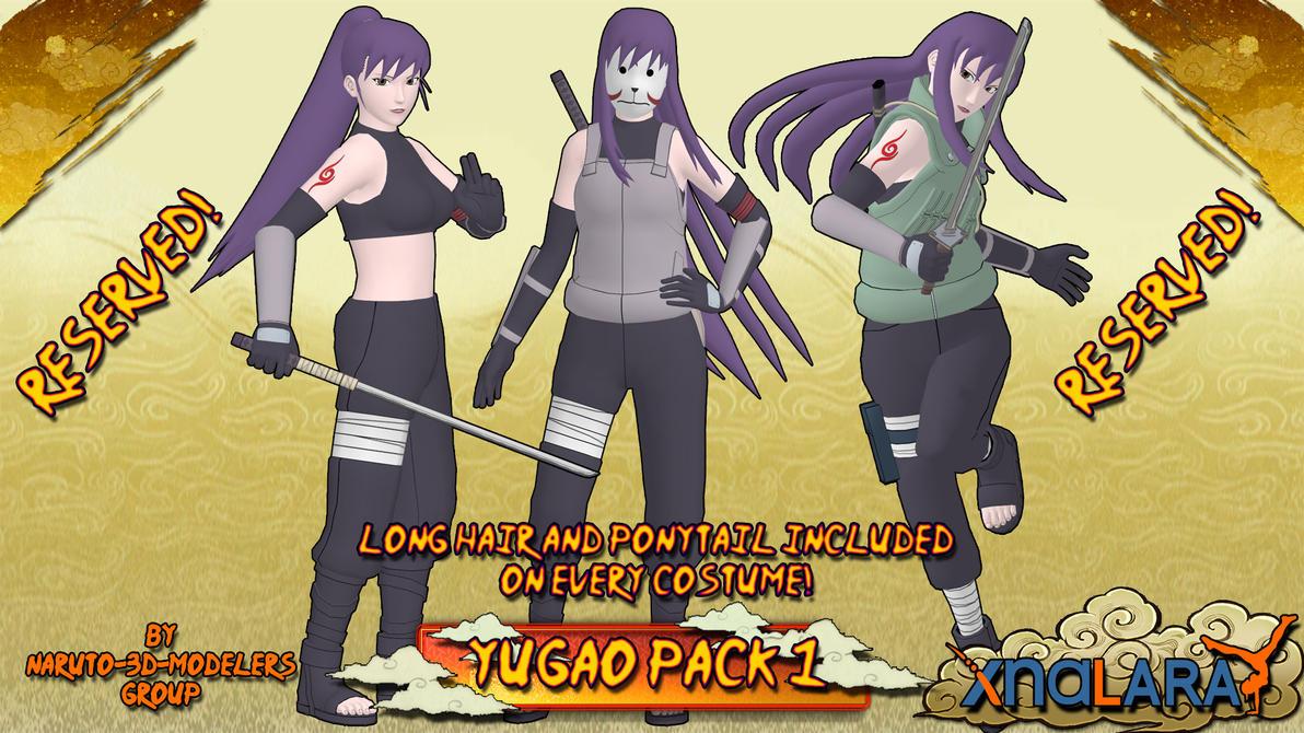 Naruto - Yugao Uzuki PACK 1!! (FOR XPS) by MVegeta on ...