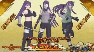 Naruto - Yugao Uzuki PACK 1!! (FOR XPS)