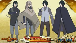 Naruto - Sasuke Uchiha (Adult) PACK 1 FOR XPS!!