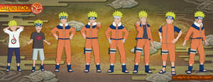 Naruto - Naruto Uzumaki PACK (Ver. 1.0) FOR XPS!!
