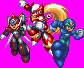 Megaman X - X4 Stage Select Poses by NONE-Dragon