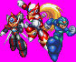 Megaman X - X4 Stage Select Poses