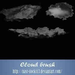 cloud brush by nasr-stock113