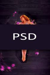 Violet (psd) by nasr-stock113