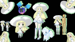 MMD - Plus Size Lillie And Nendoroid *DL* by Catty-Mintgum
