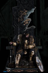 Thorin Oakenshield-King Under The Mountain by whitewizardlotr
