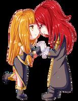 .:DGM:. Love + War by SleepingAyumu