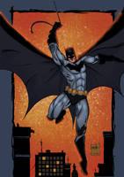 Batman by jakekless