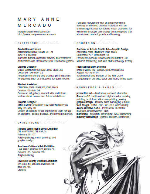 Personal Resume Curriculum Vitae CV for Art+Design by meh ... on art paintings, art thank you letters, art best resume, art writing, art recommendation letter, art address, art profile,