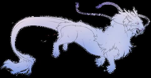 Panthera Satora lineart (FREE!) by ttazo