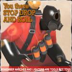 TF2 pyro spray