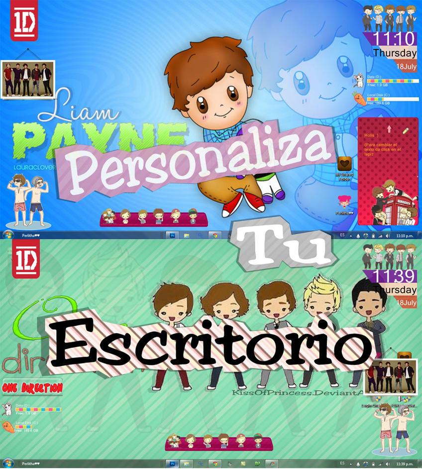 Pack de perzonalizacion One Direction by KissOfPrincess