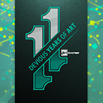 11th Birthday Journal Skin by erickthedesigner