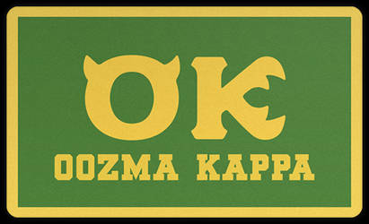 Oozma Kappa Ok On Greekmu Deviantart