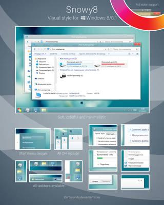 Snowy8 for Windows 8/8.1 by Carborunda