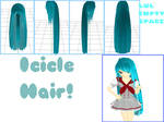 MMD: Icicle Hair + DL