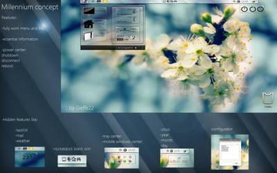 Windows millennium concept v2 by gieffe22