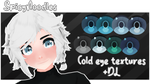 | MMD | COLD EYE TEXTURE PACK DOWNLOAD! by SpicyyNoodles