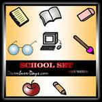 School Set by decemburr-days