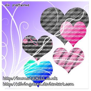xo's photoshop patterns by xlivingdead