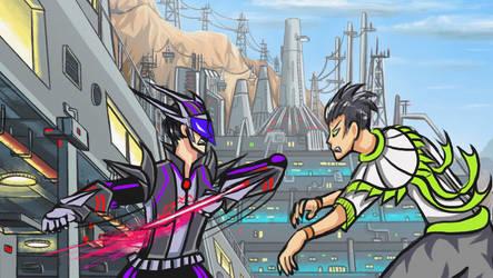 Sci-Fi Fight Animation SNEAK PEAK