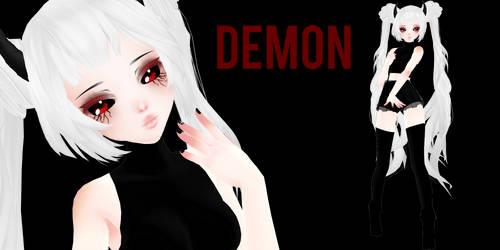 [MMD] TDA Demon Miku [+DL] by Kirazira