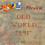 OLD WORLD MAP Persona by delade